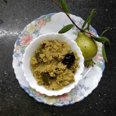 Raw Pomegranate chutney recipe in Telugu,దానిమ్మ కాయ పచ్చడి, Sudha Badam