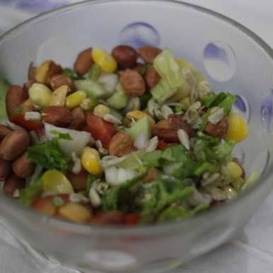 Photo of Sprout Salad by Sudha Sridhar at BetterButter