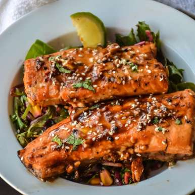 Spicy Honey Garlic Salmon in Foil, How to make Spicy Honey Garlic Salmon in Foil