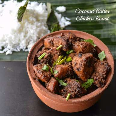 COCONUT GHEE CHICKEN ROAST, How to make COCONUT GHEE CHICKEN ROAST