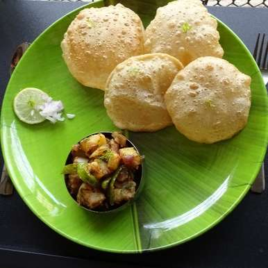 Photo of Puri Bhaji by Sujata Hande-Parab at BetterButter