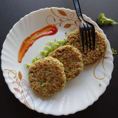 Photo of Broccoli Oats Cutlets by Sujata Hande-Parab at BetterButter