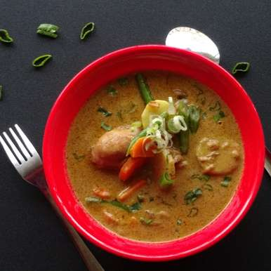 Photo of Thai Chicken Curry by Sujata Hande-Parab at BetterButter
