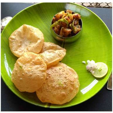 Photo of Puri by Sujata Hande-Parab at BetterButter