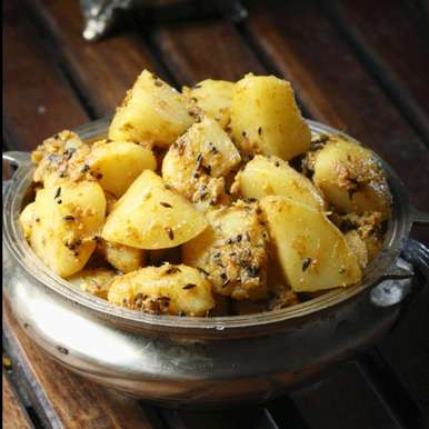 Photo of Jeera aloo by Sujata Limbu at BetterButter