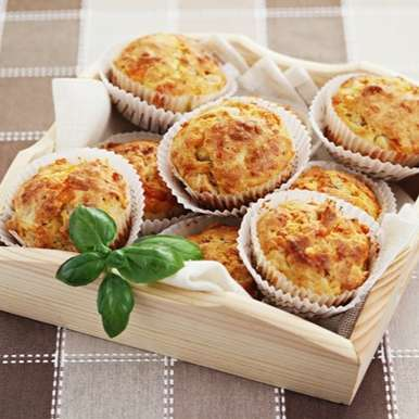 Photo of Ham and Cheese Muffins by Sujata Limbu at BetterButter