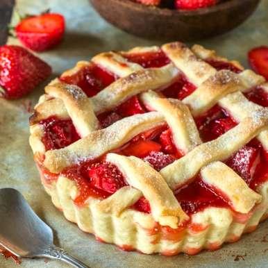 Photo of Strawberry Pie by Sujata Limbu at BetterButter