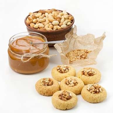 Photo of Salted Caramel Thumbprint Cookies by Sujata Limbu at BetterButter