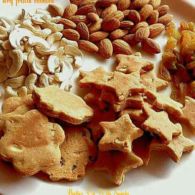 Photo of Date Palm Jaggery Oats Dry Fruits Cookies by Sujata Roy at BetterButter