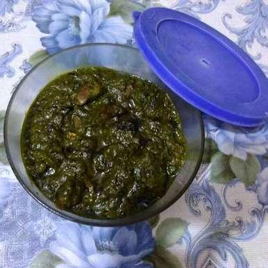 Photo of Saag meat by Sukanya Basu at BetterButter