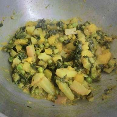 Photo of Pui shak (veg) by sukanya sen at BetterButter