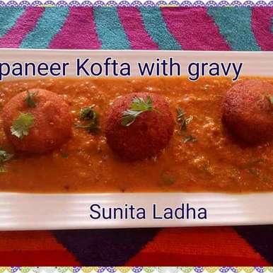 Photo of Paneer kofta with gravy by Sunita Ladha at BetterButter