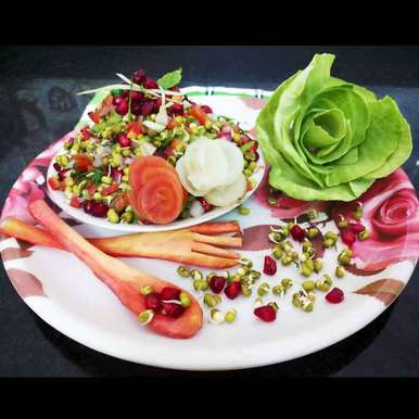 Photo of Sprouted moong salad by Sunita Sahu at BetterButter