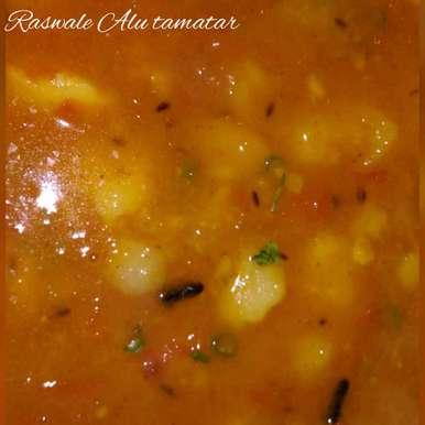Photo of Raswale Alu Tamatar by Supriya Bhatia at BetterButter