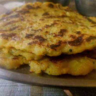 Photo of Pan cake of leftover rice.. by Suraksha Pargaonkar at BetterButter
