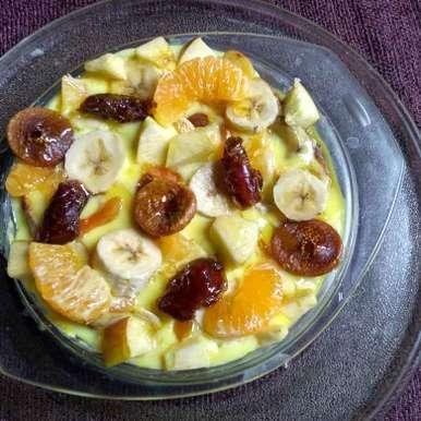 Photo of Mixed fruits pugding by Sushmita Chakraborty at BetterButter