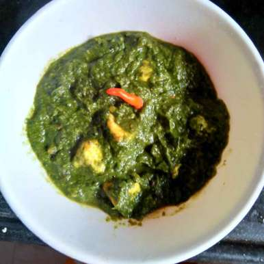 Photo of Palong paneer by Swagata Roy at BetterButter