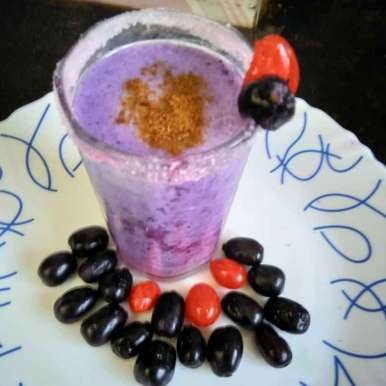 Photo of Jamun shake by Swagata Roy at BetterButter