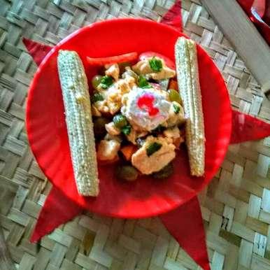 Photo of Mixed fruit cream raita by Swagata Roy at BetterButter