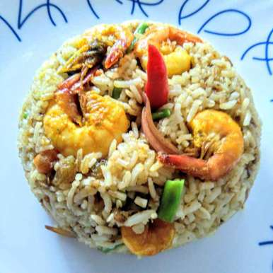 Photo of Prawn fried rice by Swagata Roy at BetterButter