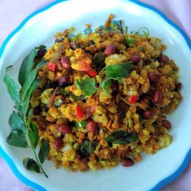 Oats poha recipe in Bengali,ওটস পোহা, Swagata Roy