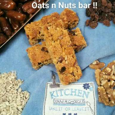 Photo of Oats and Nuts Bars !!! by Swapna Sunil at BetterButter