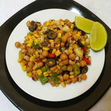Photo of Bean salad with herb dressing ! by Swapna Sunil at BetterButter