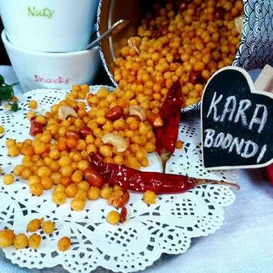Masala kara bundi recipe in Hindi,मसाला कारा बूंदी, Swapna Sunil