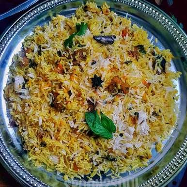 Photo of Koyla( Smoked) Karahi Mutton Biryani by Swathi Joshnaa Sathish at BetterButter