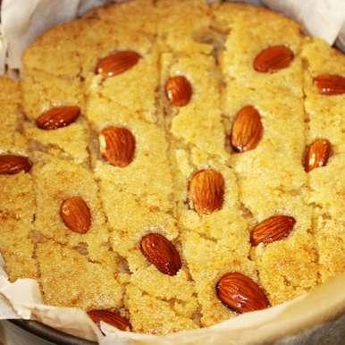 Basbousa Arabic Dessert