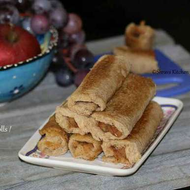 Photo of Apple French Toast Roll Ups by Swathy Nandhini at BetterButter