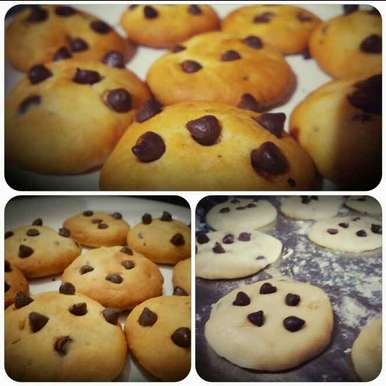 Photo of Chocochip Eggless Cookie by Swati Khanna at BetterButter