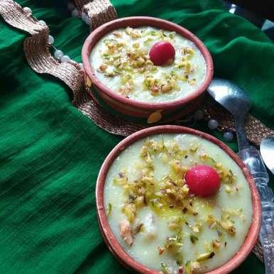 Photo of pineapple firni by Swati Mookherjee at BetterButter