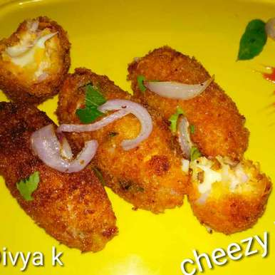 Cheezy and crispy bars, How to make Cheezy and crispy bars