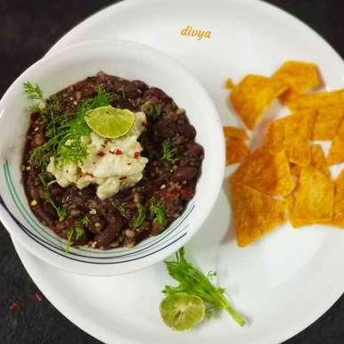 Photo of Bean mashed potato cheesy dip with nacho by Divya Konduri at BetterButter