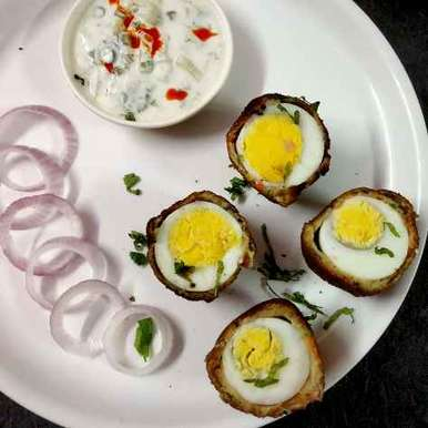 Photo of Aloo soya coated egg bombs by Divya Konduri at BetterButter