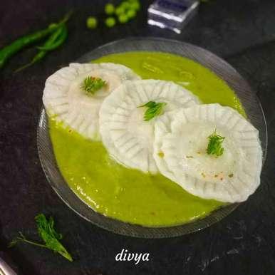 Photo of Creamy Mutar sause in cheesy rivoli by Divya Konduri at BetterButter