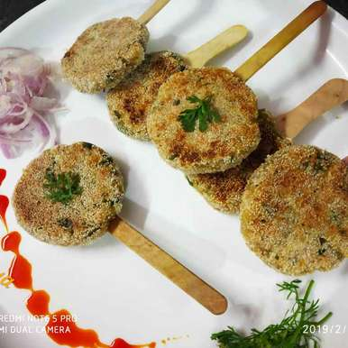 Photo of Shahi panner seekh kabab lollipops by Divya Konduri at BetterButter