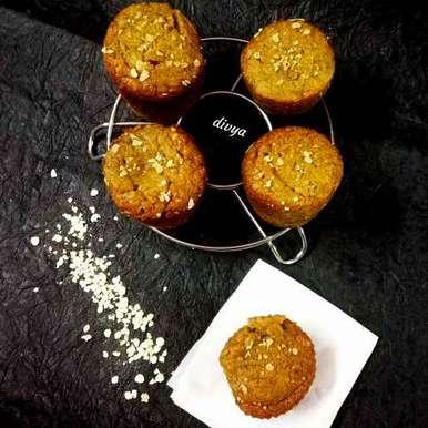 Photo of Oats banana  fluffy cup cakes eggless by Divya Konduri at BetterButter