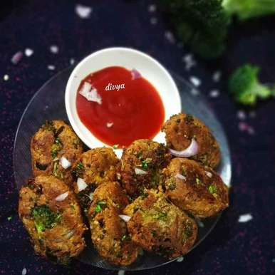 Photo of Broccoli panner aloo kababs by Divya Konduri at BetterButter