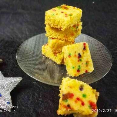 Photo of Cornmeal hot milk cake bytes by Divya Konduri at BetterButter