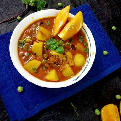 Photo of Orange alloo sabzi by Divya Konduri at BetterButter
