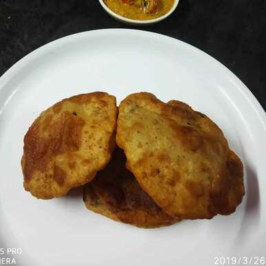 Photo of Doli ki poori (khamiri ki puri) by Divya Konduri at BetterButter
