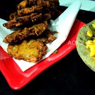 Photo of Badaa Piaji (Twice fried onions fritters from Odisha) by sweta biswal at BetterButter