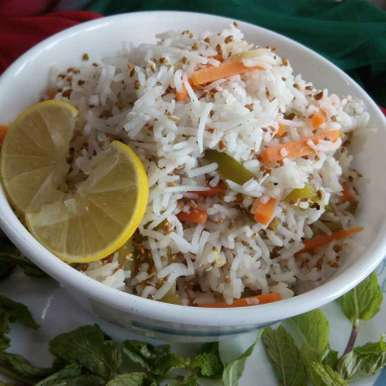 Photo of Alfalfa and rice salad by Sweta Shet at BetterButter