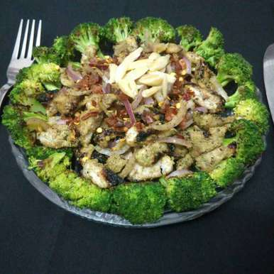 Photo of Brocolli and chicken salad by Sweta Shet at BetterButter