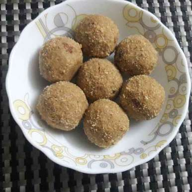 Photo of Wheat Flour Ladoo by Sweta Gupta at BetterButter