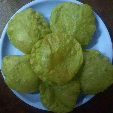 Photo of Spinach poori by swetha vijayagiri at BetterButter