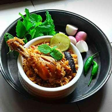Photo of Minty chicken biryani by Tamali Rakshit at BetterButter