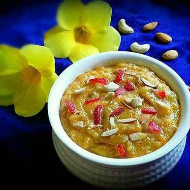 Photo of Carrot-Oats-Green Papaya Halwa by Tamali Rakshit at BetterButter